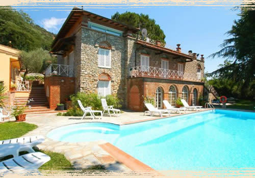 villa in tuscany where yuo can sleep low cost